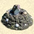Декоративная крышка люка Крот в Очках