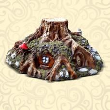 Декоративная крышка люка Дом Гномов