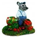 Декоративная крышка люка Крыс с Овощами