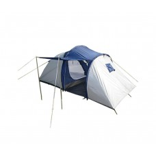 Палатка трехместная с крыльцом